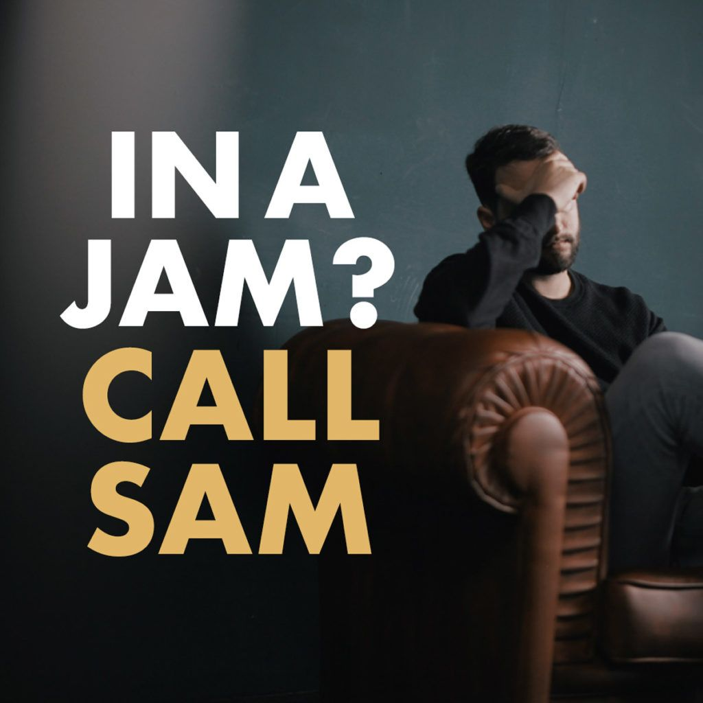 in a jam call sam