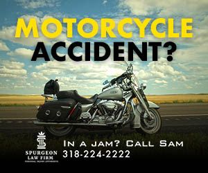 motorcyle accident attorneys in alexandria, la